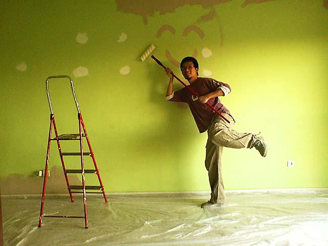 Pintando con amor m o m e c e s - Como pinto mi habitacion ...